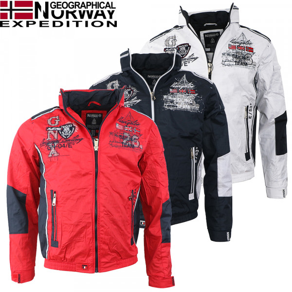 GEOGRAPHICAL NORWAY bunda pánska CHOUBAKA MEN 056