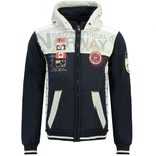 GEOGRAPHICAL NORWAY mikina pánska GEDAY MEN SAM 100