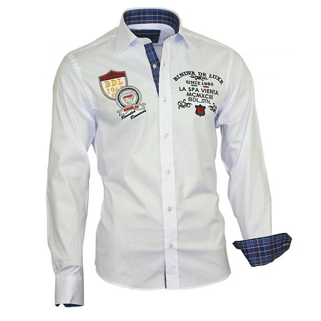 f4b924a7b640 BINDER DE LUXE košeľa pánska 81105 luxusná - DG-SHOP.SK