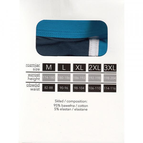 MORAJ boxerky pánske MBXL650-107 LONG FIT