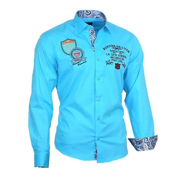 3e5cecb838ea BINDER DE LUXE košeľa pánska 81102 luxusná - DG-SHOP.SK