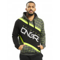Dangerous DNGRS / Hoodie Woody in black