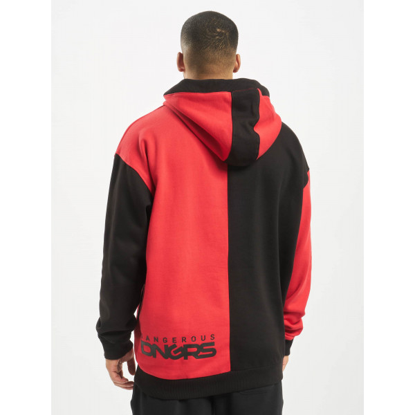 Dangerous DNGRS / Hoodie Two-Face in black