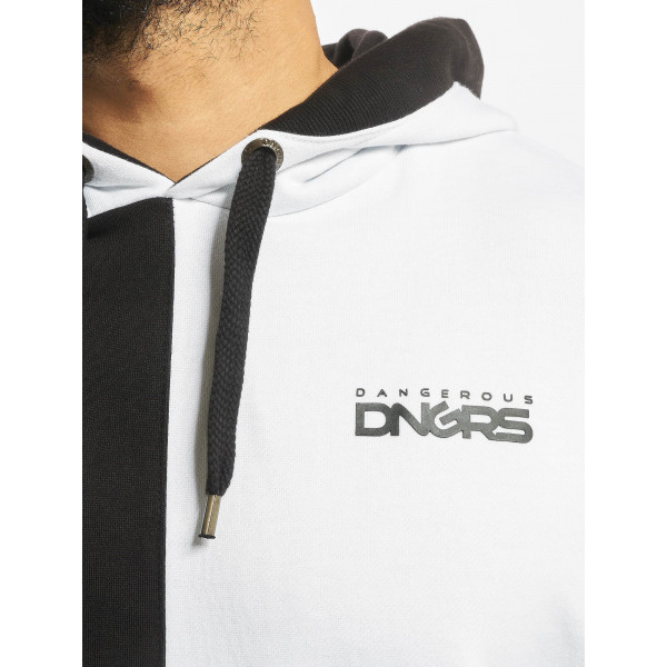 Dangerous DNGRS / Hoodie Two-Face in white