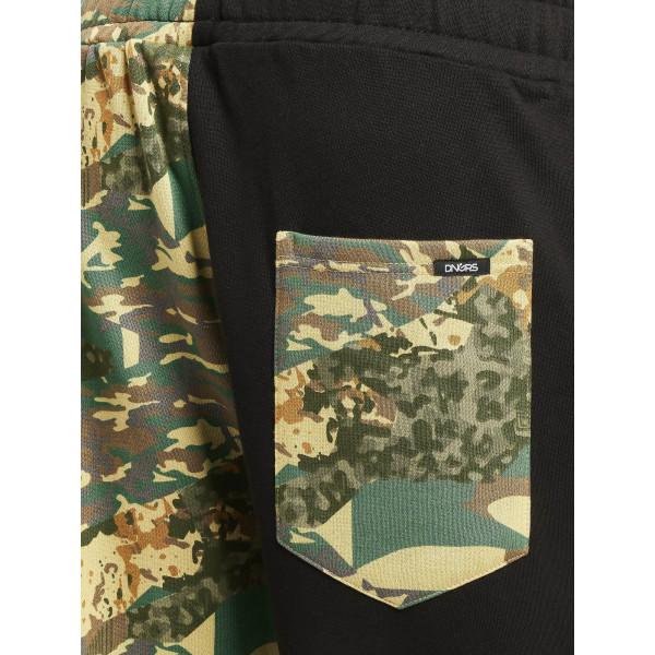 Dangerous DNGRS / Sweat Pant Two-Face in black