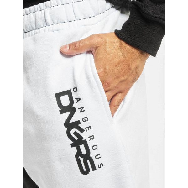 Dangerous DNGRS / Sweat Pant Two-Face in black
