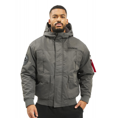 Dangerous DNGRS / Winter Jacket Grenadier in grey