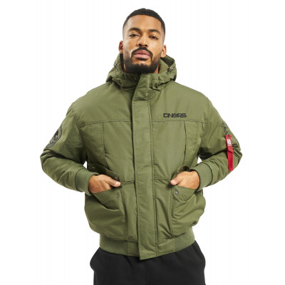 Dangerous DNGRS / Winter Jacket Grenadier in olive