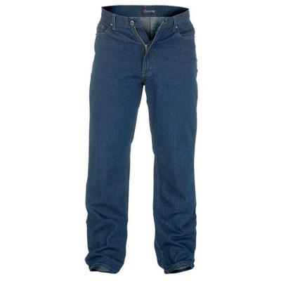 ROCKFORD nohavice pánske RJ560 COMFORT INDIGO jeans nadmerná veľkosť