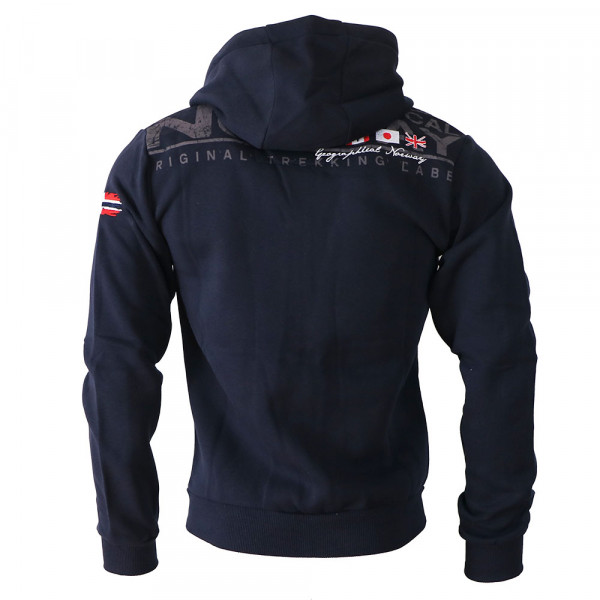 GEOGRAPHICAL NORWAY mikina pánska FESPOTE MEN 100