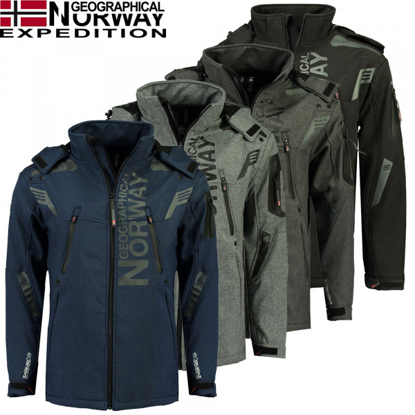 GEOGRAPHICAL NORWAY bunda pánska TALENTUEUX softshell