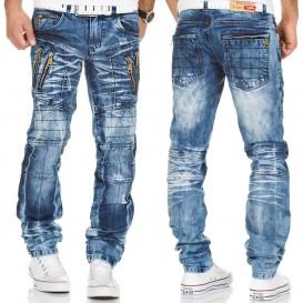 KOSMO LUPO nohavice pánske KM134 jeans džínsy