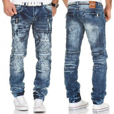 KOSMO LUPO nohavice pánske KM146 jeans džínsy