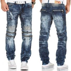 KOSMO LUPO nohavice pánske KM143 jeans džínsy
