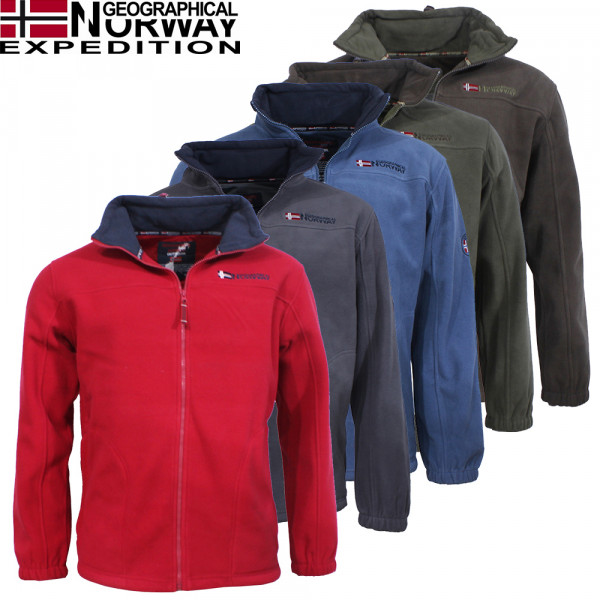 GEOGRAPHICAL NORWAY mikina pánska TAMAZONIE MEN ASS A 224