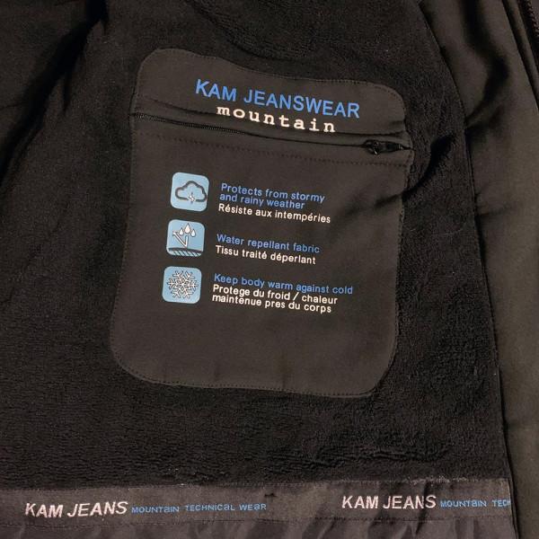 KAM bunda pánska KBS KV86 softshell nadmerná veľkosť