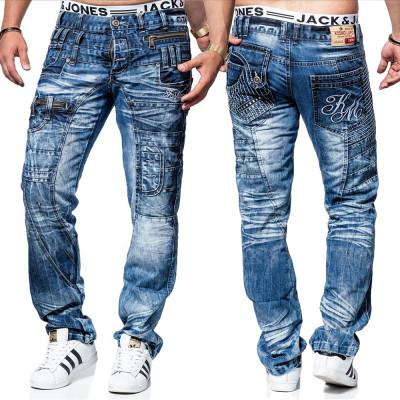 KOSMO LUPO nohavice pánske KM020 jeans džínsy