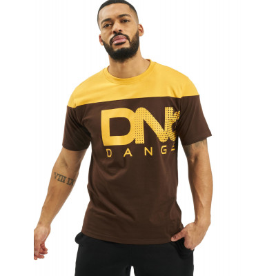 Dangerous DNGRS / T-Shirt Gino in brown