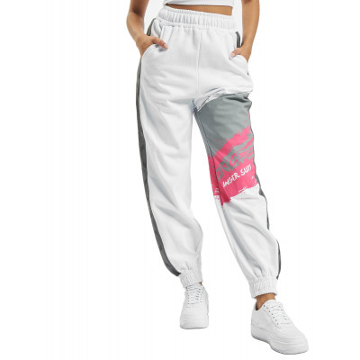 Dangerous DNGRS / Sweat Pant Anger in white