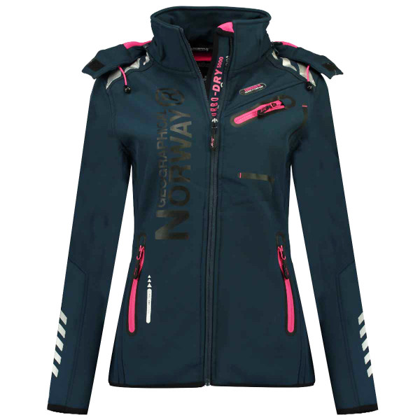 GEOGRAPHICAL NORWAY bunda dámska REVEUSE LADY 007 softshell