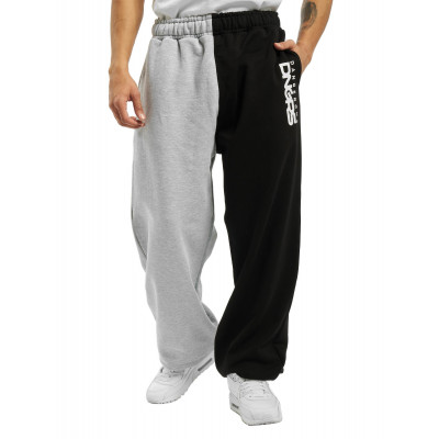 Dangerous DNGRS / Sweat Pant Two-Face in grey