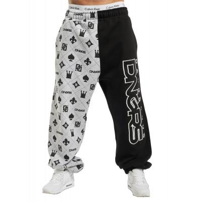 Dangerous DNGRS / Sweat Pant Half Crown & King in grey