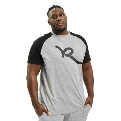 Rocawear / T-Shirt Big Raglan in grey