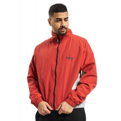 Dangerous DNGRS bunda pánska Lightweight Jacket Lights in red