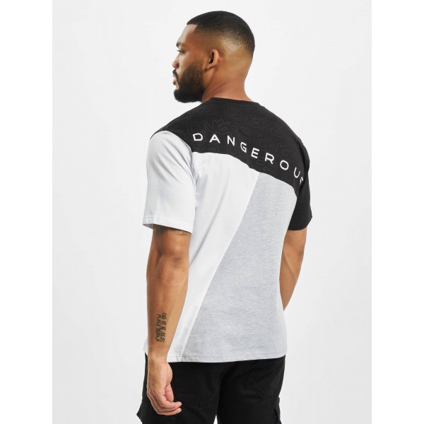Dangerous DNGRS / T-Shirt Contra in grey