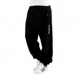 Dangerous DNGRS nohavice dámske Soft Dream Leila Ladys Logo Sweat Pants Black/White