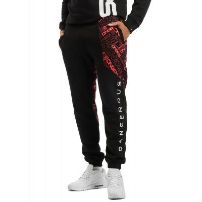 Dangerous DNGRS nohavice pánske Sweat Pant CBrick in black