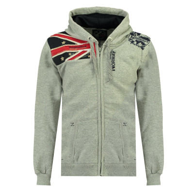 GEOGRAPHICAL NORWAY mikina pánska GATSBY MEN 100 BS3