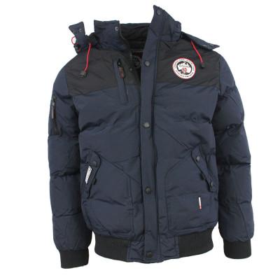 GEOGRAPHICAL NORWAY bunda pánska VOLVA zimná, prešívaná s kapucňou