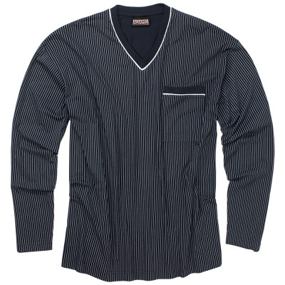 ADAMO pyžamo pánske GUSTAV 360 nadmerná veľkosť dlhý rukáv