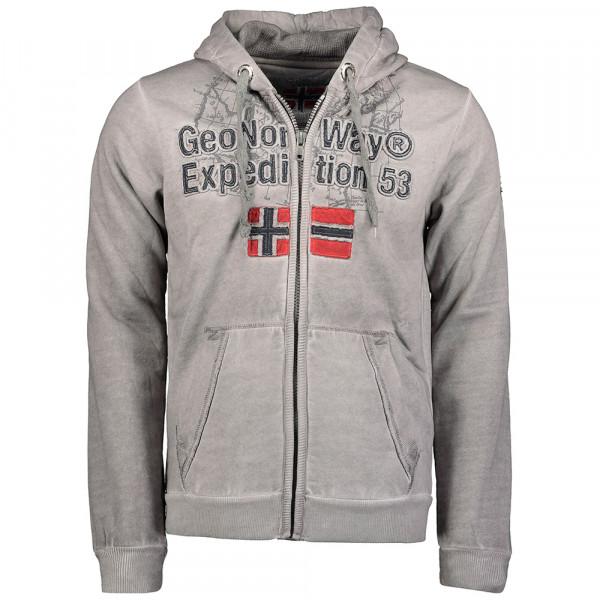 GEOGRAPHICAL NORWAY mikina pánská GIMDO MEN 100 EO