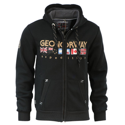 GEOGRAPHICAL NORWAY mikina pánská GOUKY MEN 100 EO
