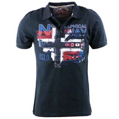 GEOGRAPHICAL NORWAY polokošeľa pánska KAGUTA SS MEN 100