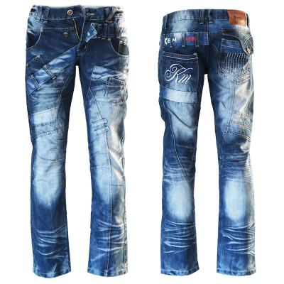 KOSMO LUPO nohavice pánske KM030 džínsy jeans