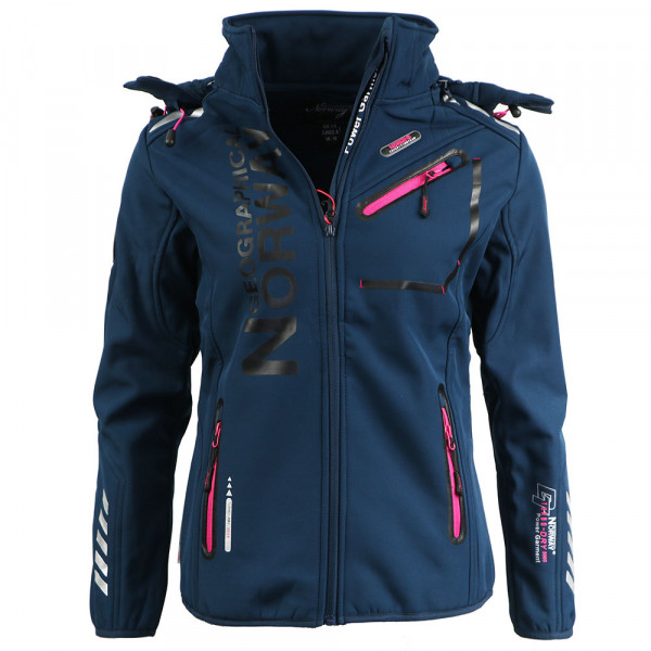 GEOGRAPHICAL NORWAY bunda dámska REINE LADY 007 softshell