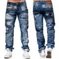 KOSMO LUPO kalhoty pánské KM001 džíny jeans
