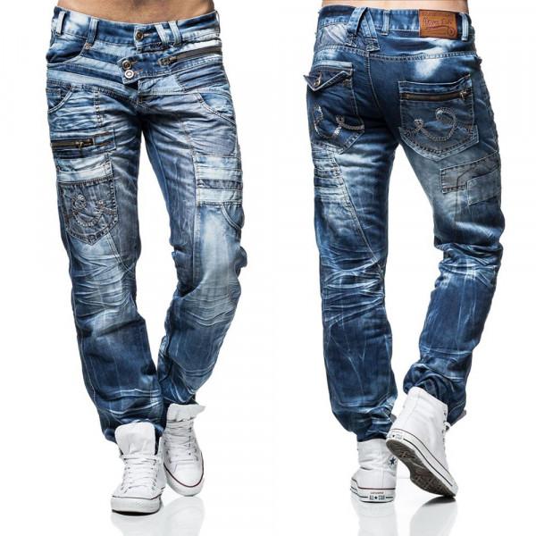 KOSMO LUPO nohavice pánske KM010 jeans džínsy
