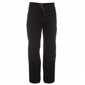 ROCKFORD nohavice pánske RJ520 COMFORT BLACK Jeans nadmerná veľkosť