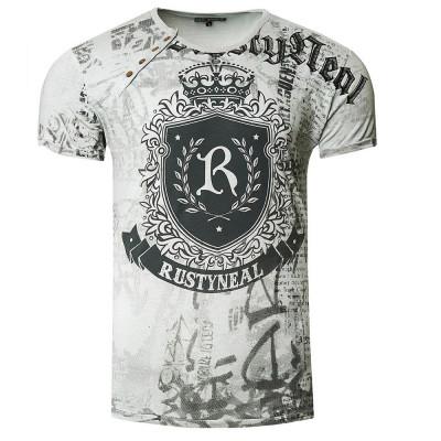 RUSTY NEAL tričko pánské 15230 regular fit