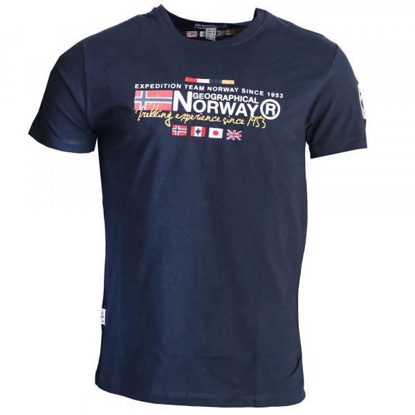 GEOGRAPHICAL NORWAY tričko pánske JAVIATOR SS MEN 100