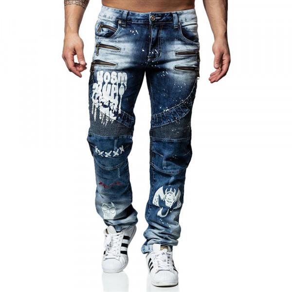KOSMO LUPO ohavice pánske KM164 jeans džínsy