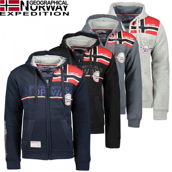 GEOGRAPHICAL NORWAY mikina pánská FAPONIE MEN NEW 100