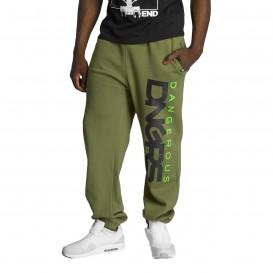 Dangerous DNGRS nohavice pánske Classic Sweatpants Khaki
