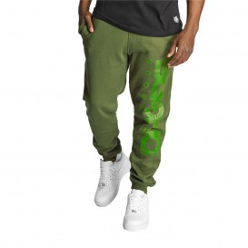 Dangerous DNGRS Full Anger Sweatpants Green