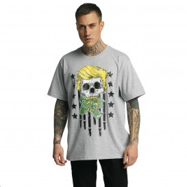 Dangerous DNGRS Don Bomb T-Shirt Grey Melange