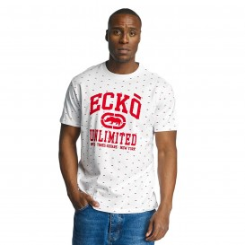 Ecko Unltd. tričko pánske Everywhere are Rhinos T-Shirt White